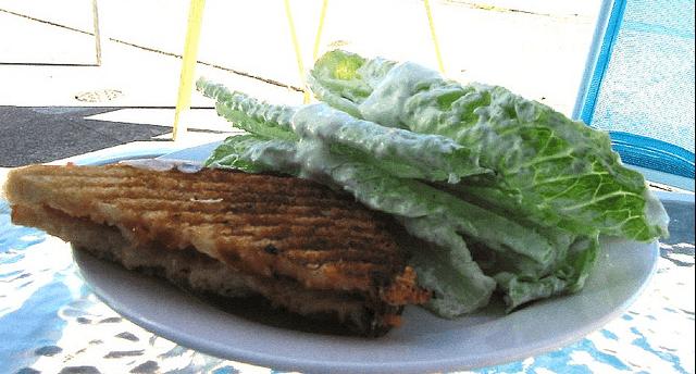 Recipe : Crispy Semolina Sandwich (open sandwich)