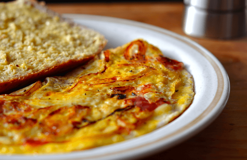 Quick Sunday Italian Omelette Recipe